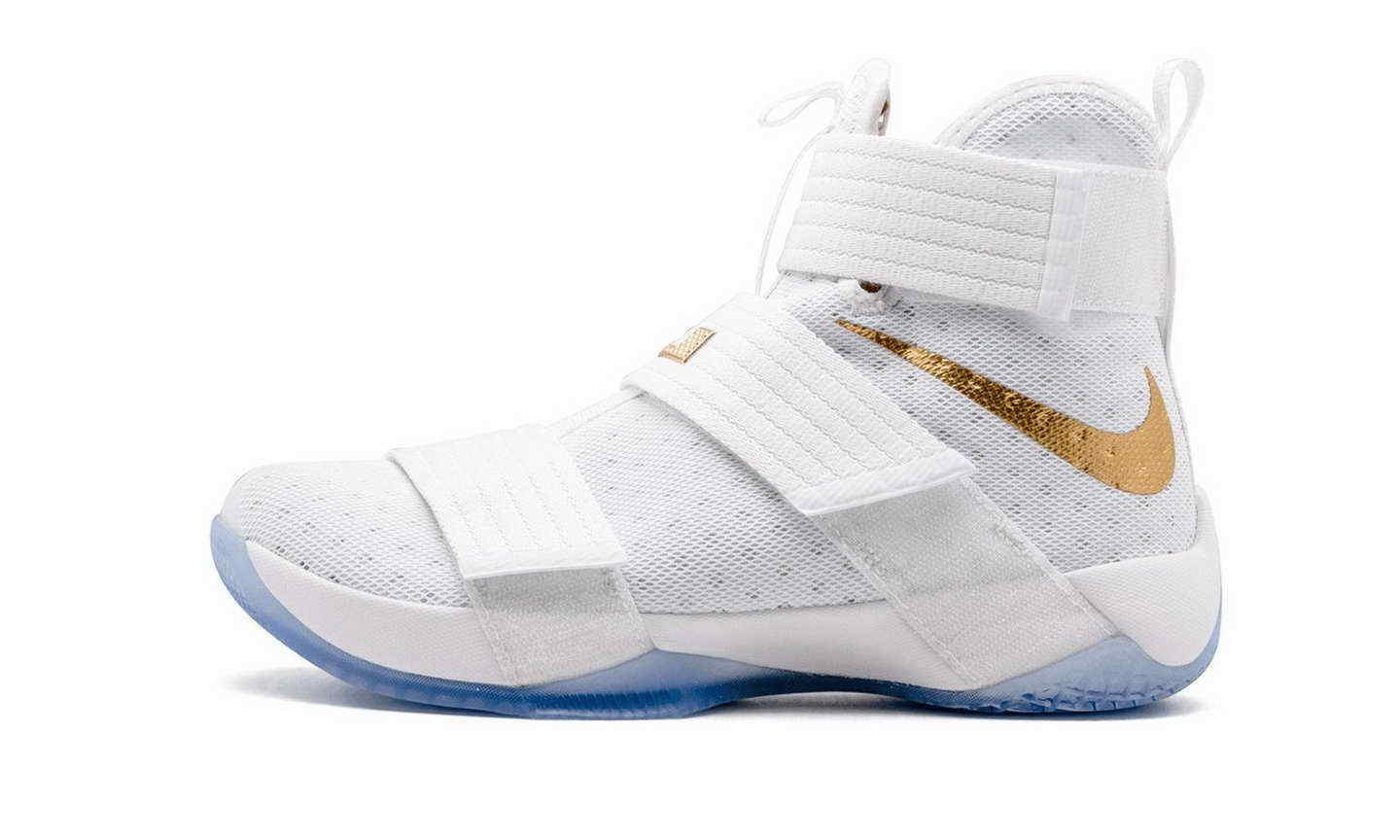 Nike Lebron Soldier 10 Game 6 Championship Unbroken PE Comfortable Comfortable and good-looking