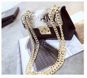 Image Is Loading Newest Fashion Woman Bag 2019 Chain Shoulder Bags