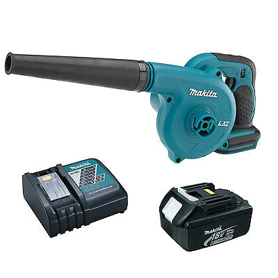 Makita DUB182Z 18-Volt LXT VS Cordless Blower with 4.0 Ah Battery and Charger