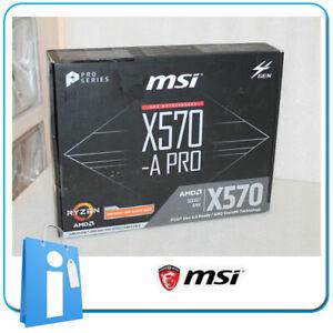 Placa-base-ATX-X570-MSI-X570-A-PRO-Socket-AM4-con-Accesorios
