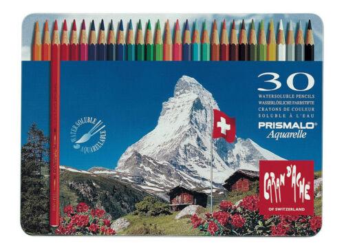 Caran D'ache Prismalo Watercolour Pencil 30 Colour Tin
