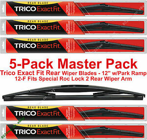 Trico 12-F Exact Fit Rear Wiper Blade 12 Pack of 1