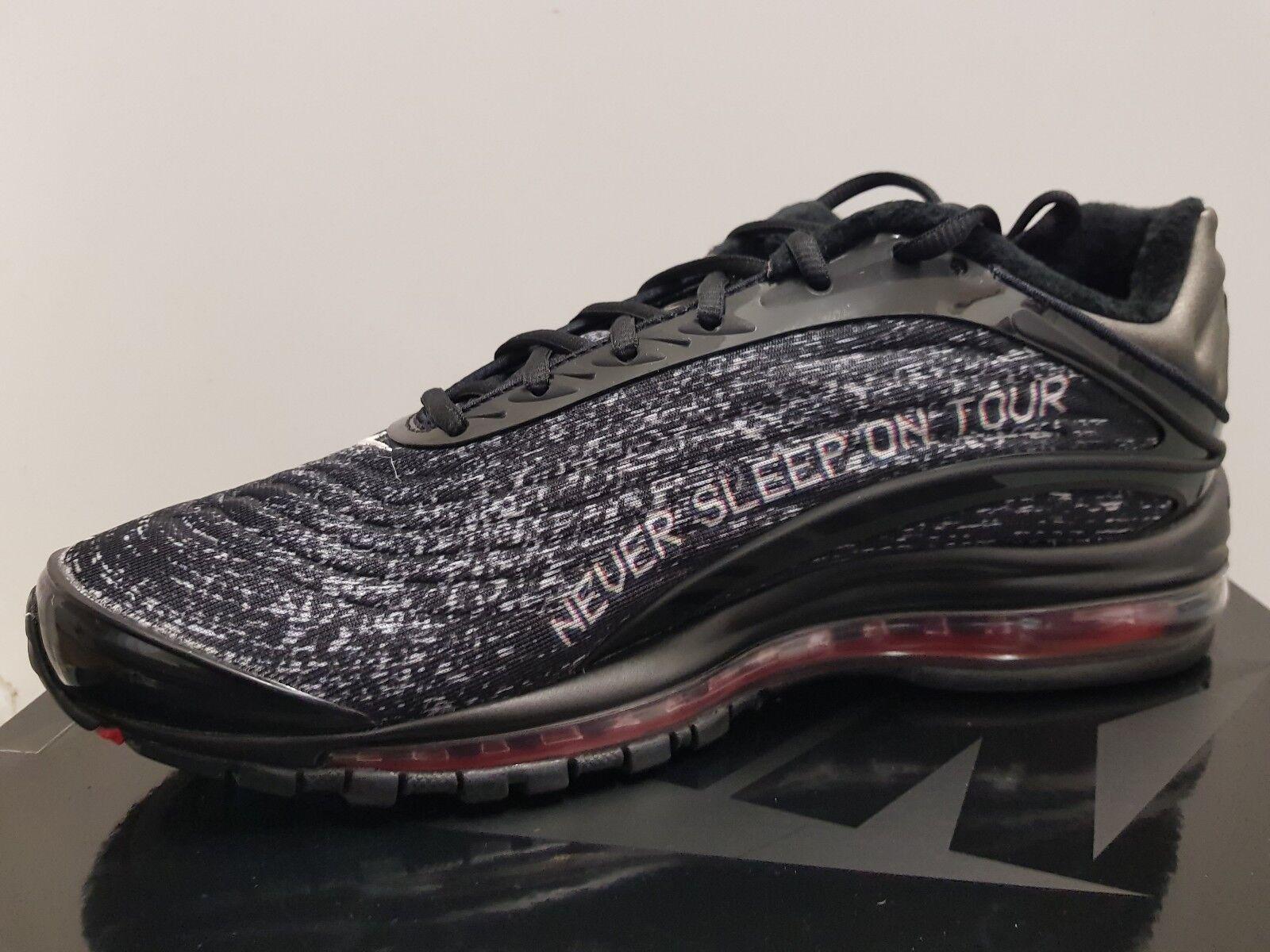 Skepta X Nike Air Max Deluxe nunca dormir en gira, UK9 Nuevo Y En Caja SK Air 3