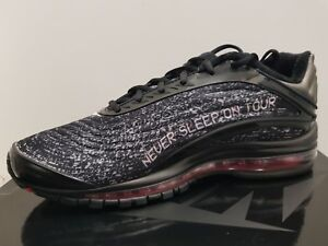 Details about SKEPTA X NIKE AIR MAX DELUXE NEVER SLEEP ON TOUR, UK9 BNIB SK AIR 3