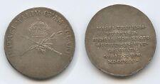 G5940 - Krönungsjeton 1792 Krönung zum ungarische Königin Franz II. Silber