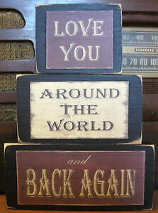 Love-You-Around-the-World-And-Back-Primitive-Rustic-Stacking-Blocks-Sign-Set
