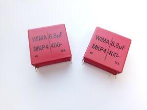 WIMA MKP4 4,7uF 630V polypropylene capacitors 2 pcs