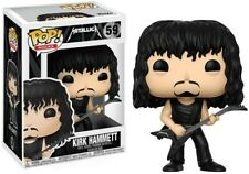 Funko Pop Rocks Metallica 59 Kirk Hammett Vinyl Figure