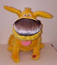 "Disney UP Movie Plush Dug 15"" Talking Yellow Dog Pete Doctor Needs Batteries"