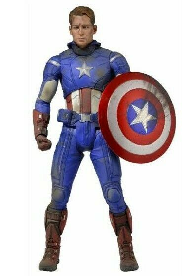 Marvel Avengers  Captain America 1 4 scale Action Figure Neca