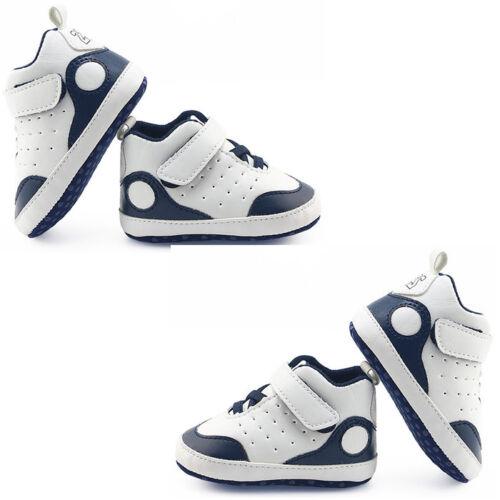 Newborn Infant Baby Boy Girl Sport Chaussures Crib Chaussures Semelle Souple Anti-Dérapant Baskets