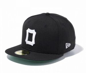 NEW-ERA-59FIFTY-Fitted-Cap-NPB-Classic-Osaka-Tigers-1958-59-Japan-with-Tracking