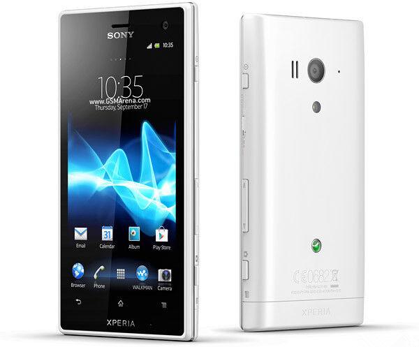 Unlocked NEW Original Sony Xperia acro S LT26W 16GB White Smartphone NFC 12MP