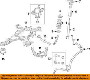 dodge chrysler oem 11-14 durango rear-shock absorber or strut 68069846ah |  ebay  ebay