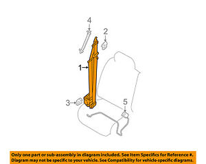 details about nissan oem 05 07 pathfinder front seat belt \u0026 retractor left 86885ea081 2005 Nissan Pathfinder AC Diagram