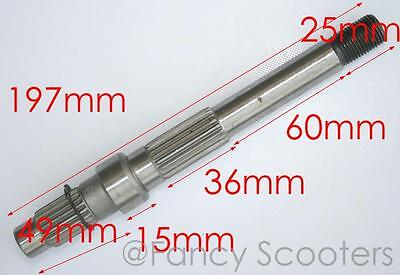 150cc GY6 Engine Gearbox Outer Shaft (C)