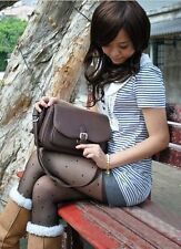 Retro PU Faux Leather DSLR Camera Shoulder Pouch Sling Bag Case For Canon Nikon
