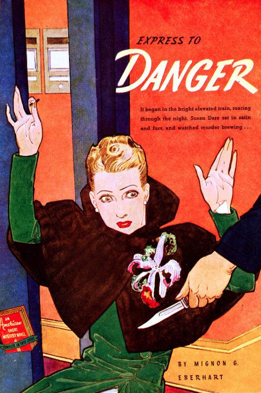 jahrgang POSTER.Stylish Graphics.Crime Novel abdeckung.Bar zimmer kunst Decor.618
