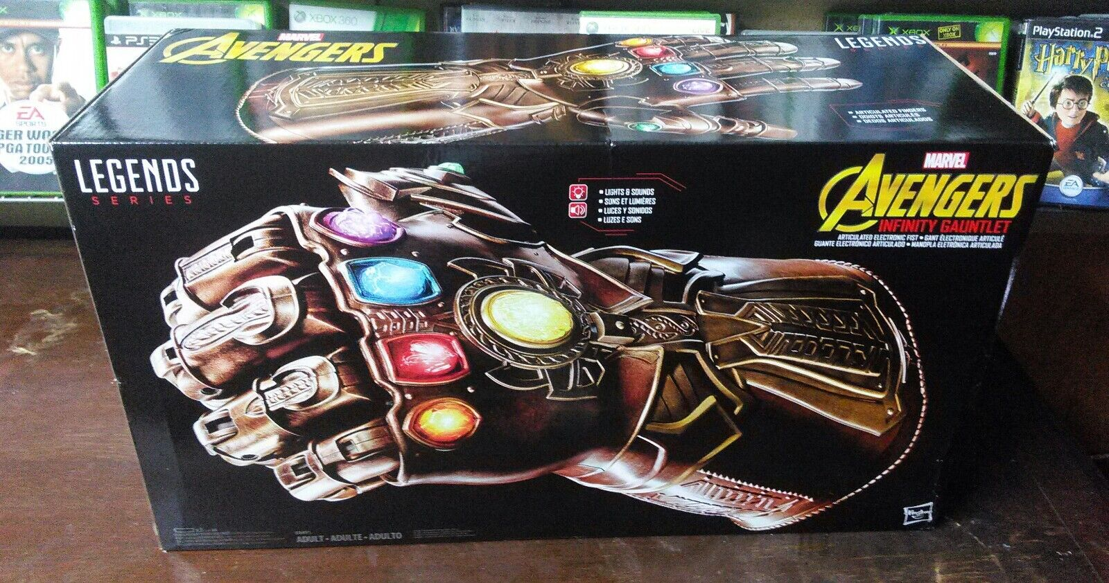 Marvel Legends Advengers Infinity Gauntlet  ready to.
