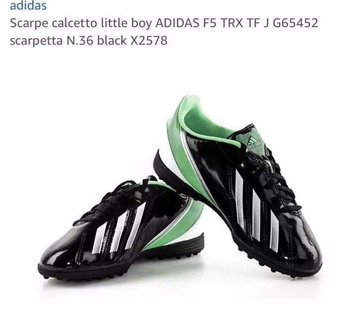 Adidas Junior F5 TRX TF J G65452 Size 2.5 Trainers shoes