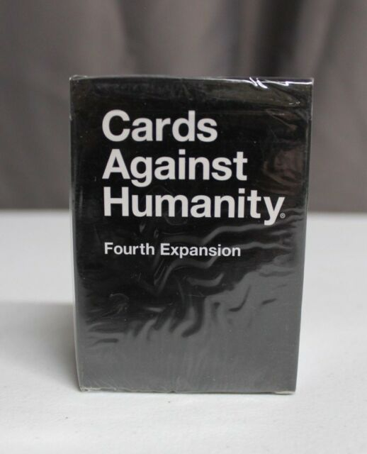 Cards Against Humanity Fourth Expansion Pack 112 Cards Brand New Sealed
