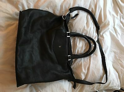 Betty Jackson Women S Black Leather Handbag