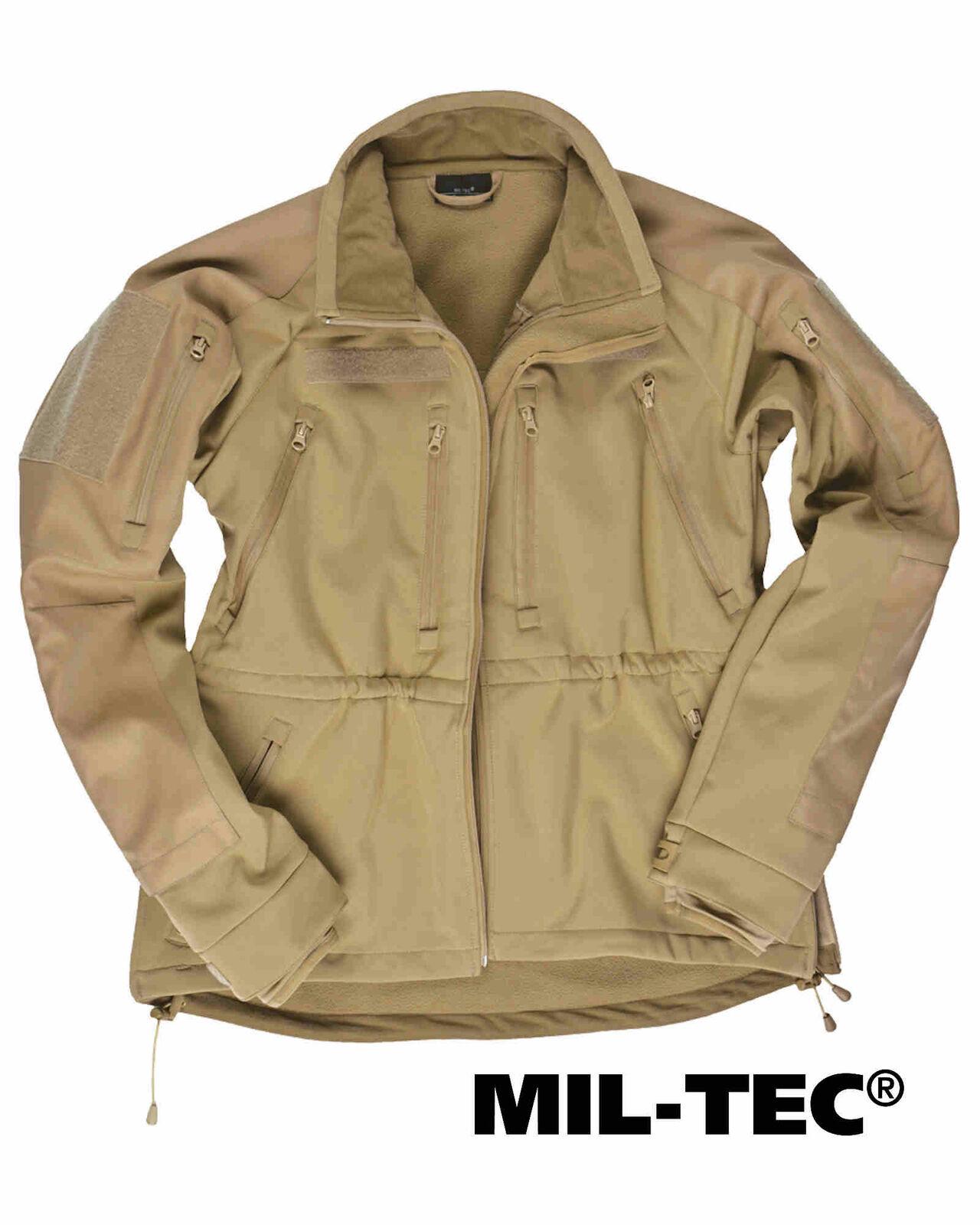Mil-tec  Softshell chaqueta mil-tec plus coyote softshell  en venta en línea