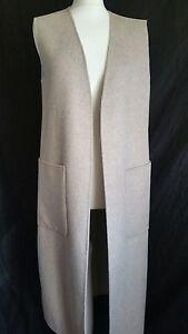 long taille Zara M UK Gilet 7522262710037 OH6axqCwn