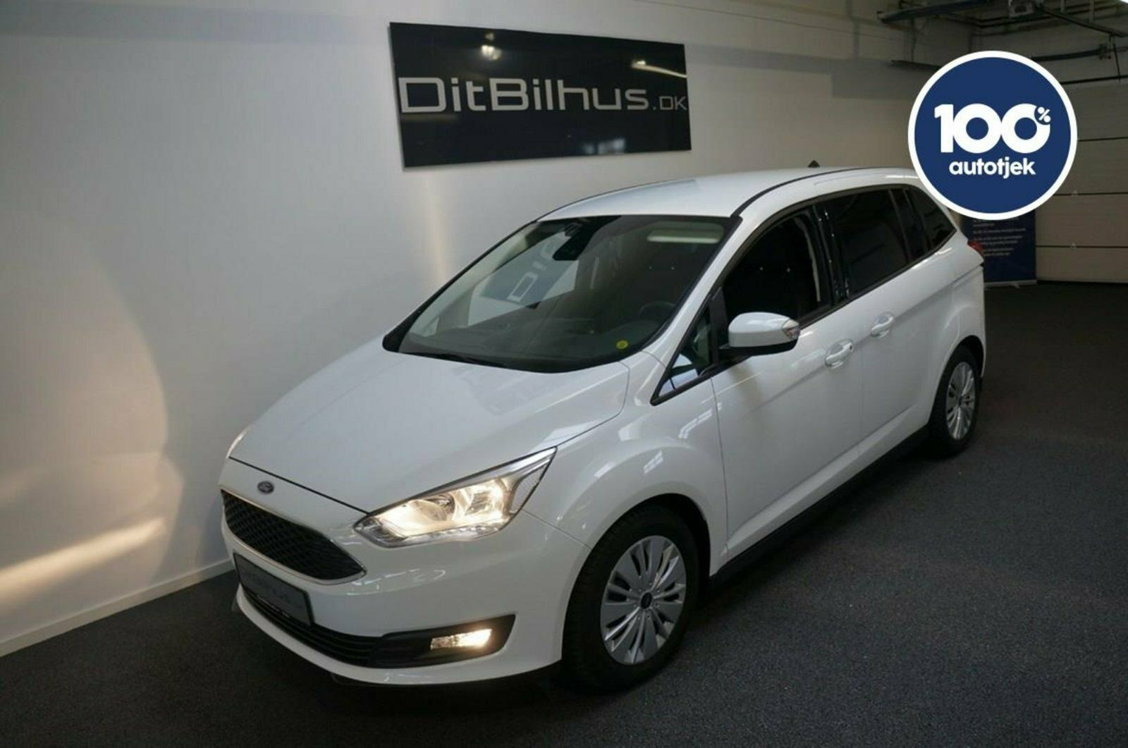 Ford Grand C-MAX 1,0 SCTi 125 Cool & Connect 5d - 257.777 kr.