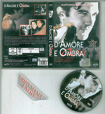 D'Amore E Ombra DVD A.Banderas,J.Connelly,S.Sandrelli