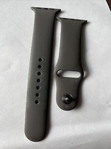 Original Apple Watch Serie 5 4 3 Sport banda 42mm Gris Espacial Correa M/L-D131