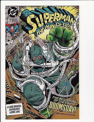 Superman The Man of Steel #19 CGC NM//M 9.8 White Pages Doomsday!