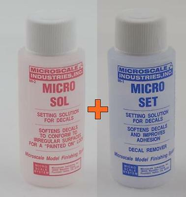 Microscale Micro Sol and Micro Set for softening decals