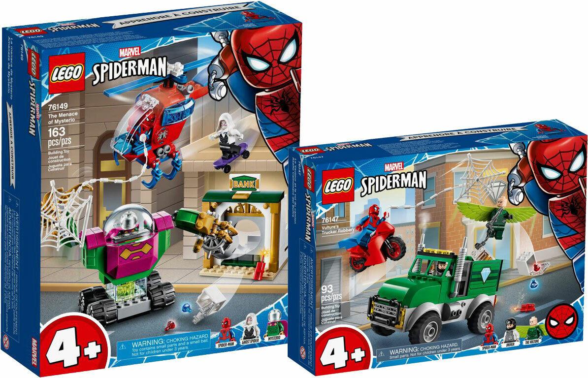LEGO Marvel SpiderMan 76149 76147 Mysterios Bedrohung Überfall N2 20