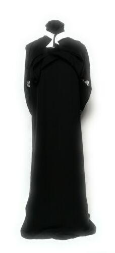 Women OPEN Front Dress Saudi Long Abaya Farasha Jilbab Burka Kacaftan