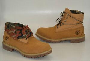 Timberland-AF-6-pulgadas-Roll-Top-Botas-de-cordon-Zapatos-Hombre-6835a