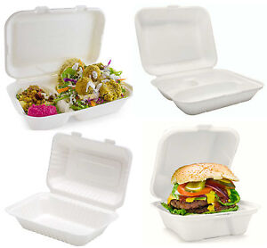 Hot Food Containers Takeaway Boxes Burgers Chips