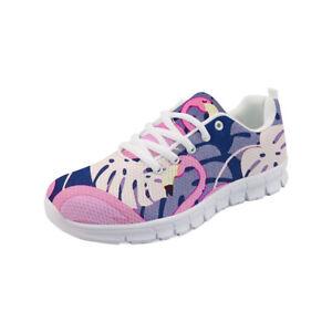 Flamingo Women's Casual Sneakers Lightweight Shoes Comfy Mesh Smart Sneaker Soft