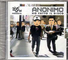 ANONIMO - HO FATTO IL DISCO - CD NUOVO SIGILLATO RARO ZOO DI 105
