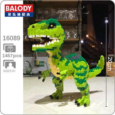 Balody Jurassic Dinosaur Tyrannosaurus Rex Diamond Mini Building Blocks Toy