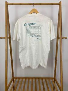 VTG-Airgasm-Definition-Skydiving-Single-Stitch-Air-Boingo-T-Shirt-Size-XL-USA