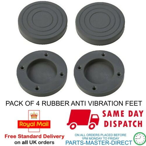 Si Adatta A LG Lavatrice Anti ammortizzatore di vibrazioni piedini in gomma 4620ER4002B Confezione da 4