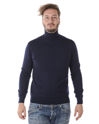 Armani Man Blauw Sweater Winter Wol Herfst Trui Emporio 8n1myz1m4cz 924 qVSzMpU