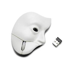 Oficial-Phantom-of-the-Opera-Inalambrico-Ordenador-Raton-En-Caja-Regalo