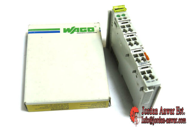 WAGO 750-401 2 Channel Input Module for I/o System 750401 24vdc