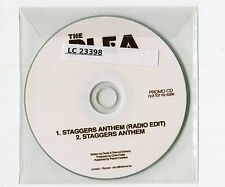 The Plea - cd-PROMO - STAGGERS ANTHEM ©2011 UK-1-Track-CD - Indie Rock