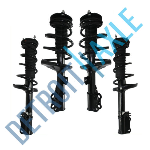 Front Rear Strut /& Coil Spring Assembly Complete 4pc for 2002 2003 Toyota Camry