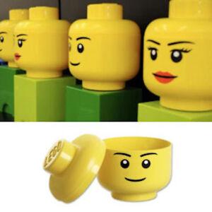 Boite de rangement LEGO Storage Aufbewahrungs - Tete de personnage, Heads, Kopfe