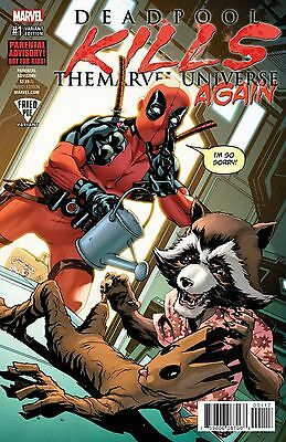 Deadpool Kills The Marvel Universe Again # 4 Regular Cover NM