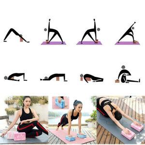 yoga brick stretch blocks brick accessories exercise
